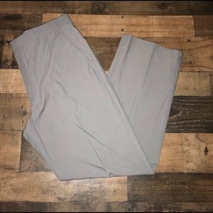 Banana republic men gray  dress pants 38x32